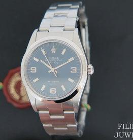 Rolex  Air-King Blue 3/6/9 Dial 14000 NEW