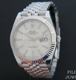 Rolex  Datejust 41 Silver Dial  126334