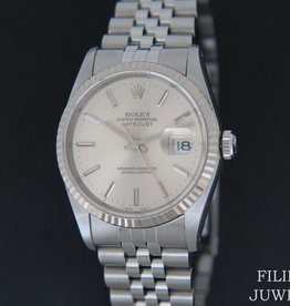 Rolex  Datejust Silver Dial 16234