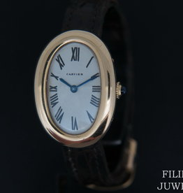 Cartier Baignoire  Ladies Yellow Gold