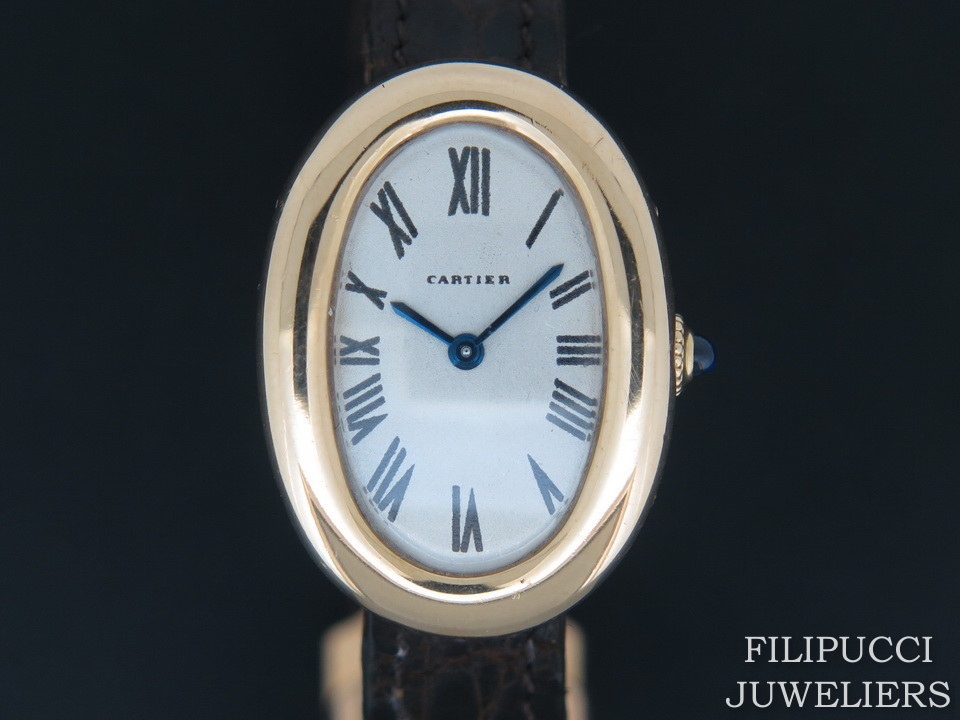 Cartier Cartier Baignoire  Ladies 18ct Yellow Gold
