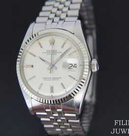 Rolex  Datejust 1601  Silver Linen Dial