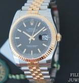"Rolex  Rolex Datejust Gold/Steel Black Dial NEW 116233 FULL STICKERS 2020 ""Kingdom of Bahrain"""