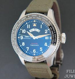 IWC Pilot's Watch Timezoner Spitfire NEW IW395501