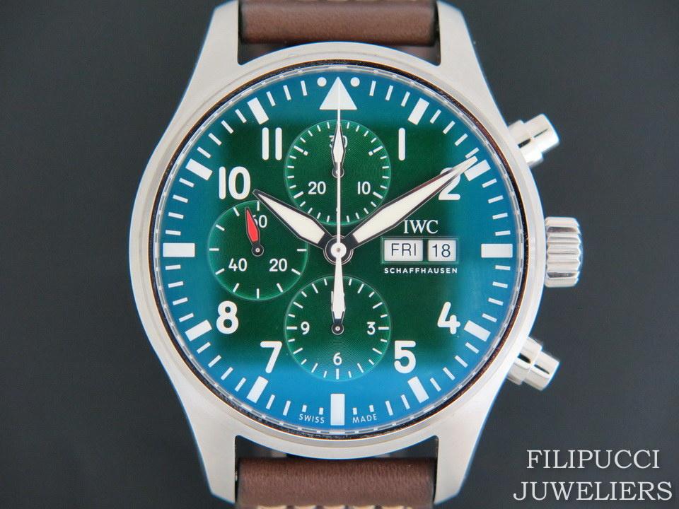 IWC IWC Pilot's Watch Chronograph  Edition Racing Green NEW IW377726
