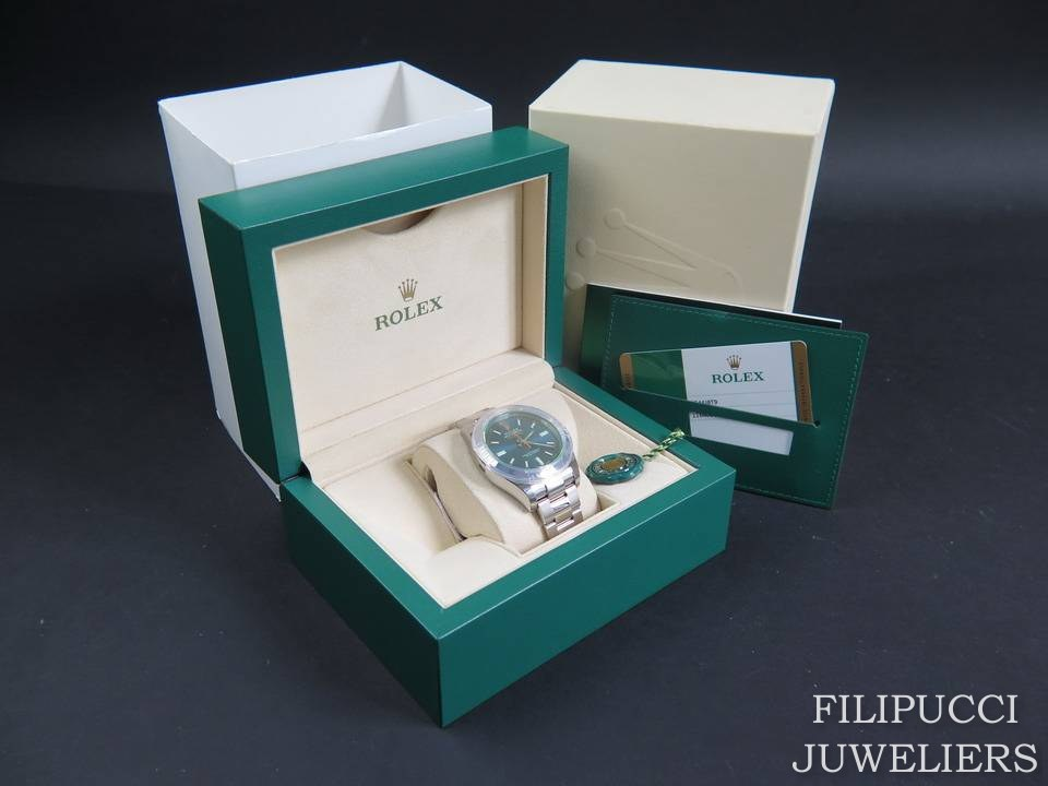 Rolex  Rolex Milgauss GV Blue NEW 116400GV   2020