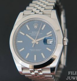 Rolex  Datejust 41 Blue Dial  126300