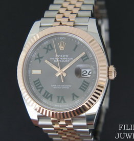 Rolex  Datejust 41 Everosegold/Steel Slate Dial 126331 NEW 2020