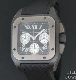 Cartier Santos 100 XL Chronograph DLC Titanium W2020005