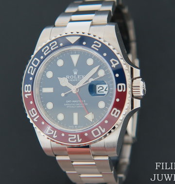 Rolex  GMT-Master II BLRO White Gold Blue Dial 126719BLRO NEW