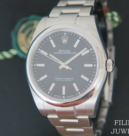 Rolex  Oyster Perpetual Black Dial NEW 114300 2020 FULL STICKERS