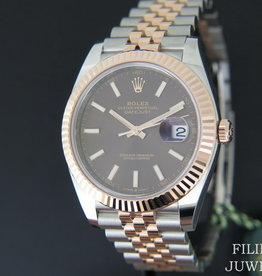Rolex  Datejust 41 Everosegold/Steel 126331 Choco Dial NEW 2020