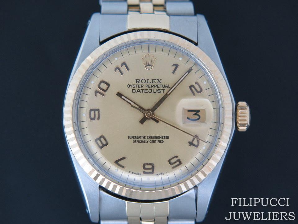 Rolex  Rolex Datejust 1601 Champagne Dial