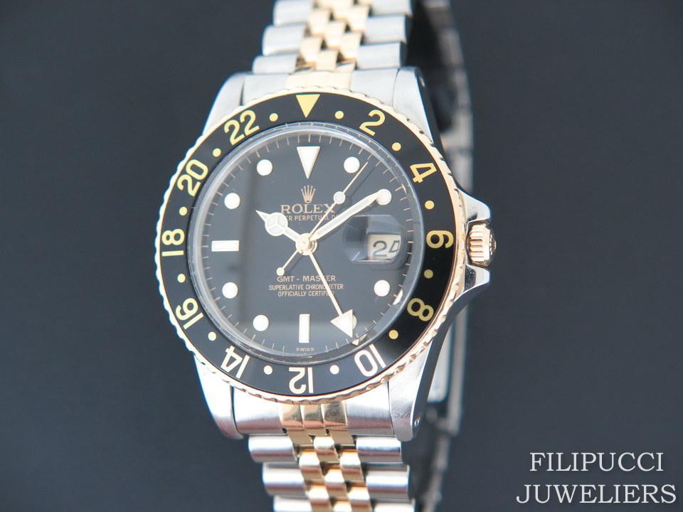 Rolex  Rolex GMT-Master Gold/Steel 16753