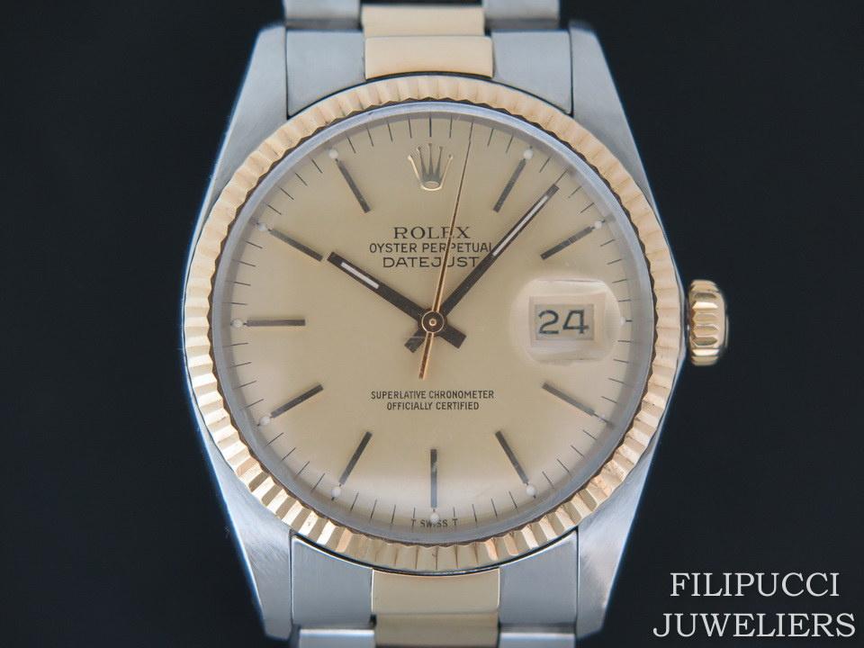 Rolex  Rolex Datejust 16013 Champagne Dial