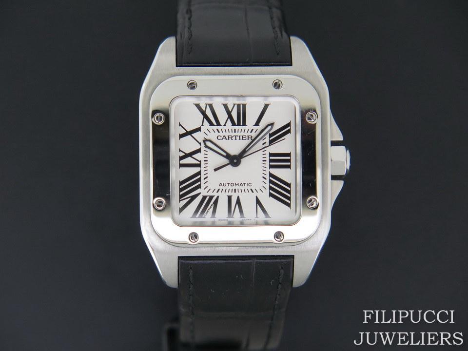 Cartier Cartier Santos 100 Medium W20106X8