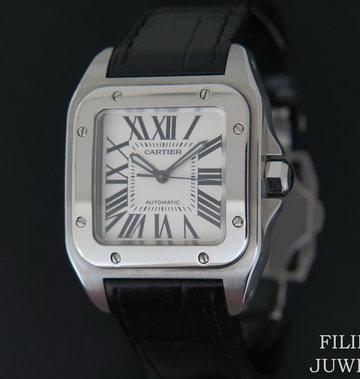 Cartier Santos 100 Medium W20106X8