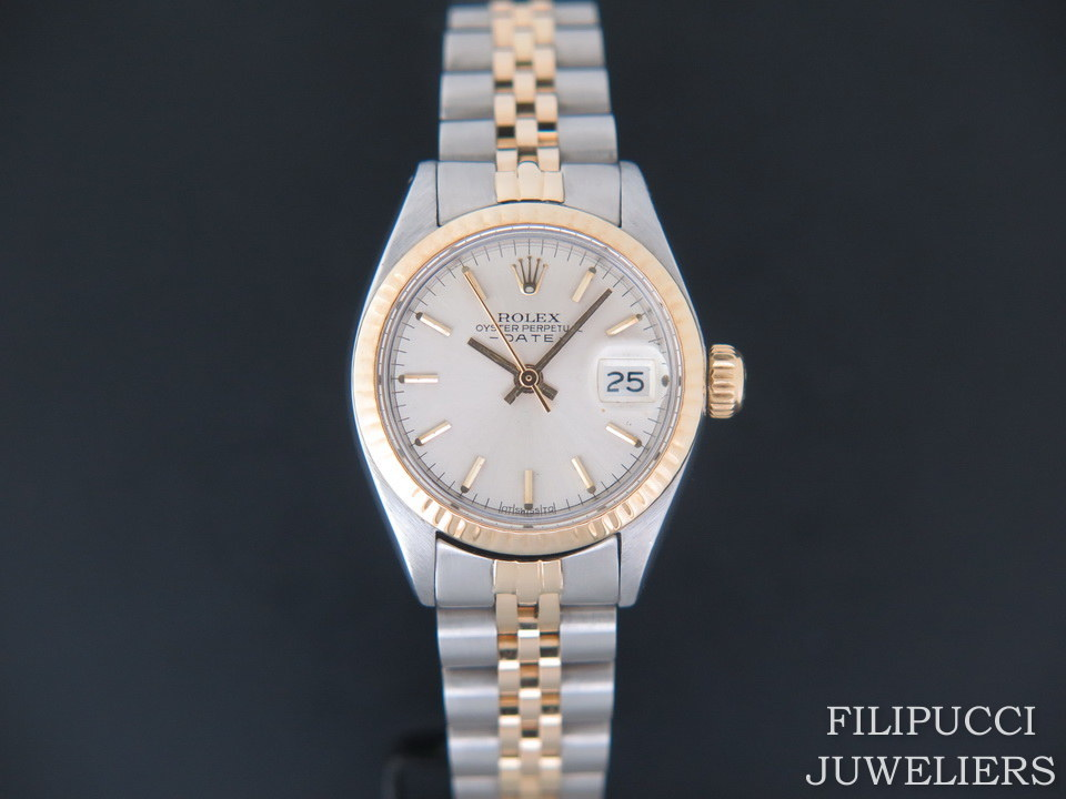 Rolex  Rolex Date Lady Gold/Steel 6917