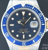 Rolex  Rolex Submariner Date Gold/Steel Blue Dial 16803