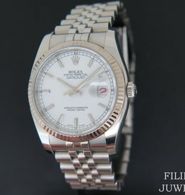 Rolex  Datejust 116234  White Dial