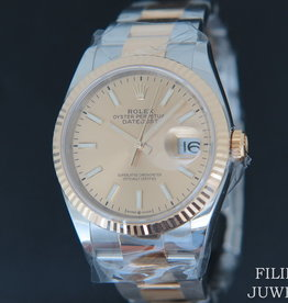 Rolex  Datejust 126233 Gold/Steel Champagne Dial  NEW 2020