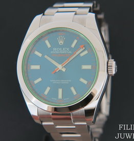 Rolex  Milgauss GV Blue NEW 116400GV  2020