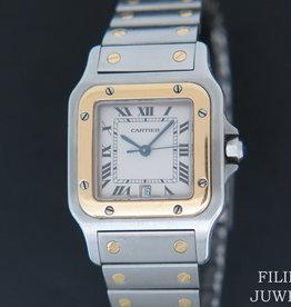 Cartier Santos Galbee Gold/Steel 1566