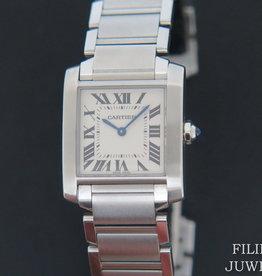 Cartier Tank Francaise MM WSTA0005