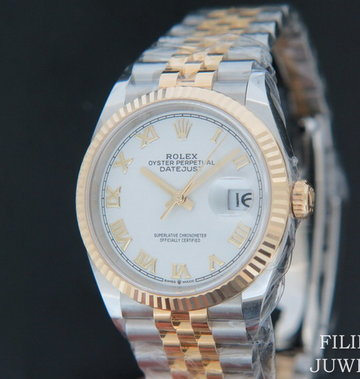 Rolex  Datejust NEW 126233 White dial