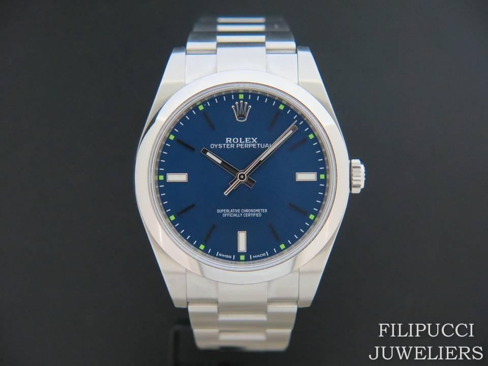 Rolex  Rolex Oyster Perpetual 114300 Blue