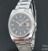 Rolex  Rolex Datejust Black Dial 116200