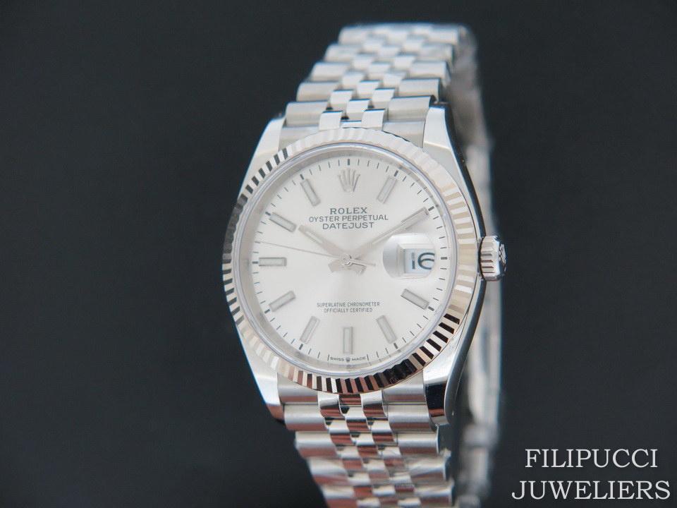 Rolex  Rolex Datejust 126234 Silver Dial NEW