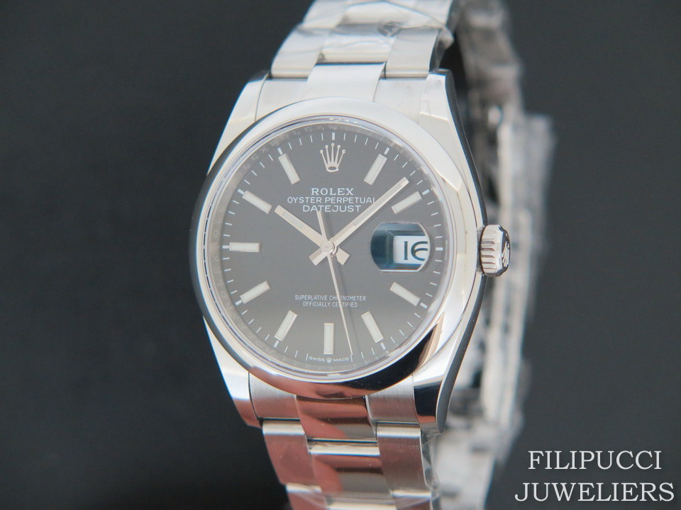 Rolex  Rolex Datejust Black Dial 126200  NEW