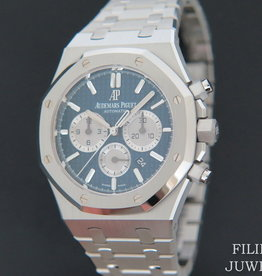 Audemars Piguet Royal Oak Selfwinding Chronograph  Blue Dial 41MM NEW