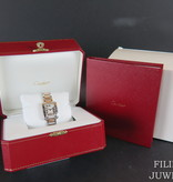Cartier Cartier Tank Anglaise Rosegold/Steel  Silver Dial  W5310036