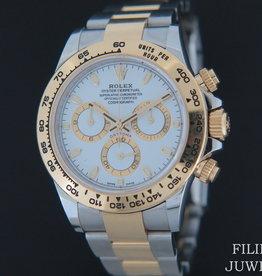 Rolex  Daytona Gold/Steel 116503 White Dial
