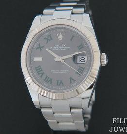Rolex  Datejust 41 Slate Roman Dial 126334