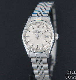 Rolex  Date Lady Silver Dial 6917