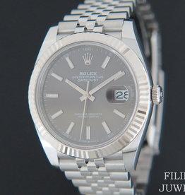 Rolex  Datejust 41 Dark Rhodium 126334  NEW