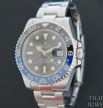 Rolex  GMT-Master II BLNR 116710BLNR