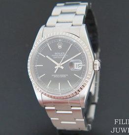 Rolex  Datejust Black Dial 16220