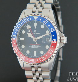 Steinhart Ocean 39 GMT.2 BLUE-RED Ceramic