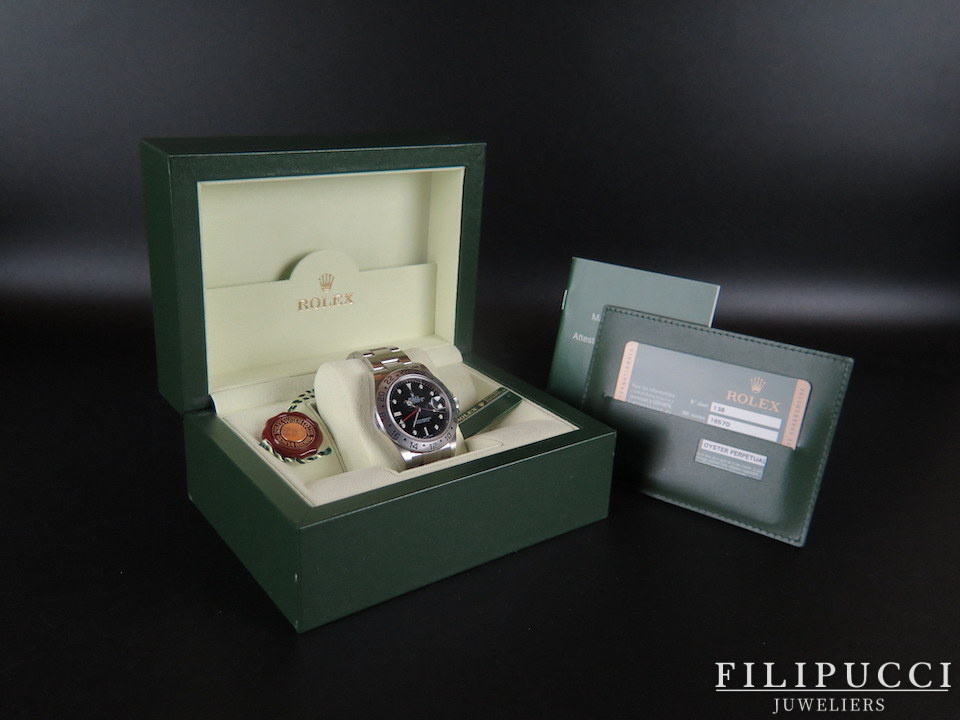 Rolex  Rolex Explorer II 16570 Z-serial Unpolished