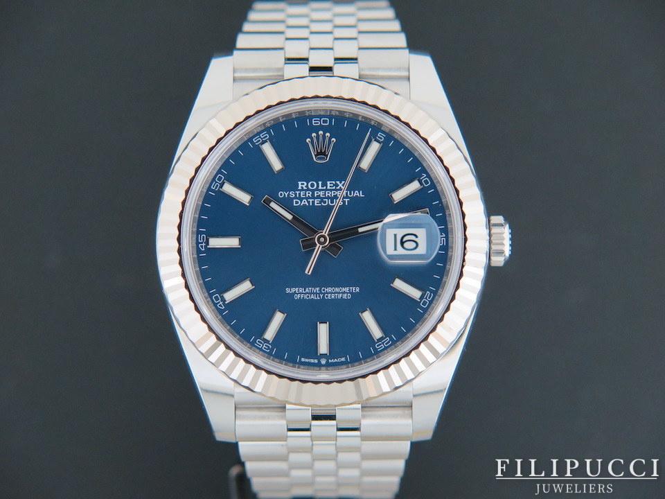 Rolex  Rolex Datejust 41 Blue Dial 126334