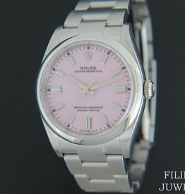 Rolex  Oyster Perpetual Candy Pink Dial 126000 NEW