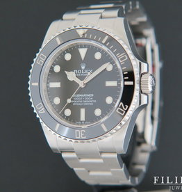 Rolex  Submariner No Date 124060 NEW MODEL FULL STICKERS