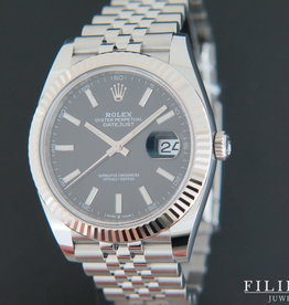 Rolex  Datejust 41 Black Dial NEW 126334