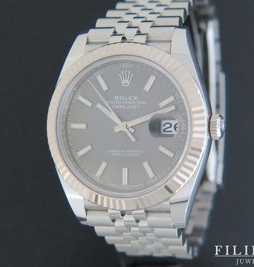 Rolex  Datejust 41 Dark Rhodium 126334