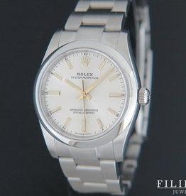 Rolex  Oyster Perpetual Silver Dial 124200 NEW MODEL