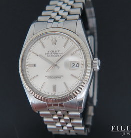 Rolex  Datejust Silver Dial 16014